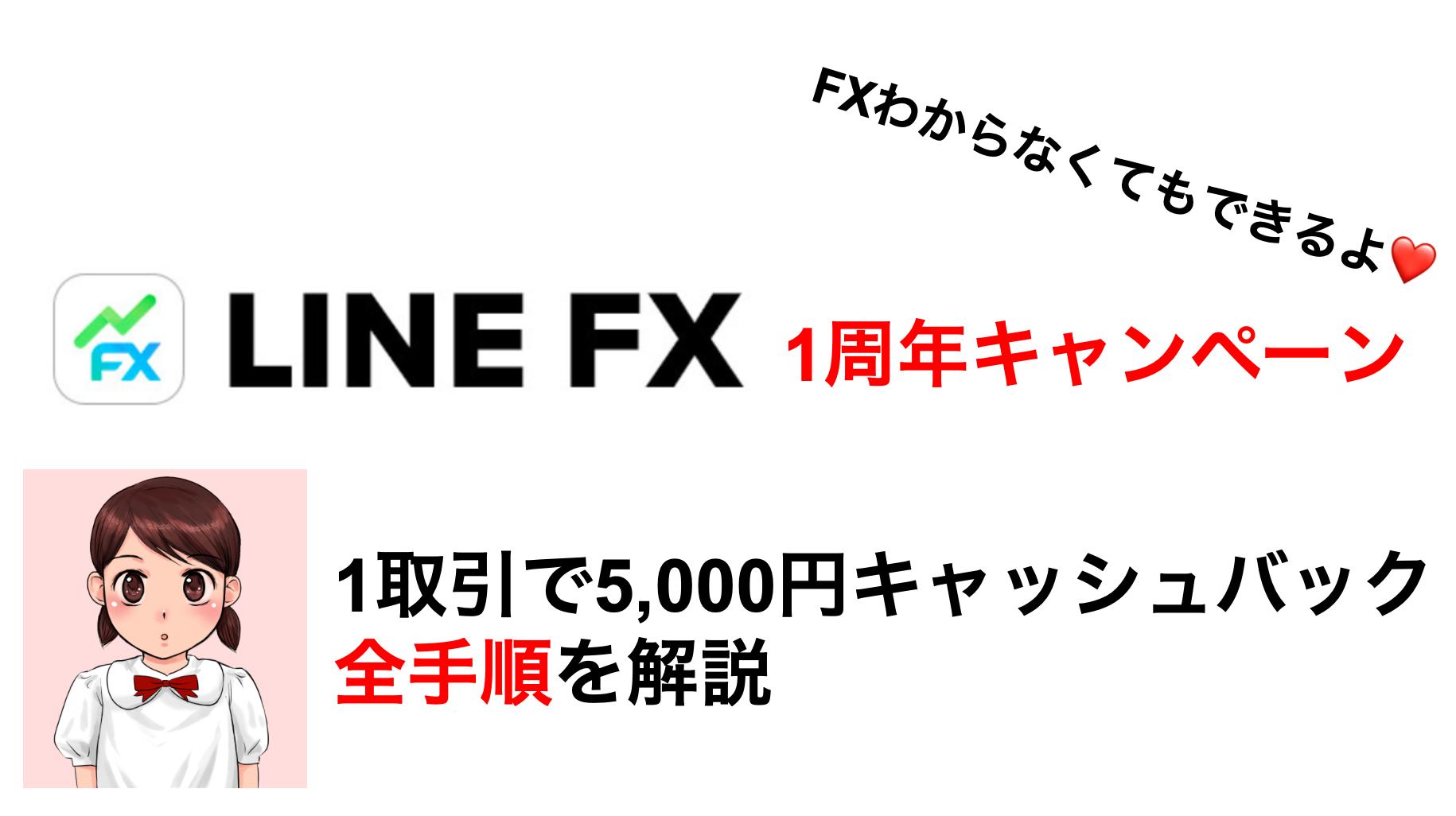 LINE FX スプレッド縮小キャンペーン