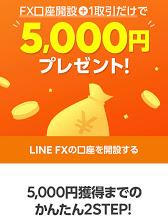 LINE FX キャンペーン